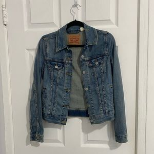Levi's Slightly Distressed Jean Jacket